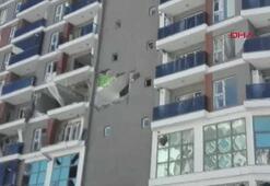 Esenyurtta bir binada patlama