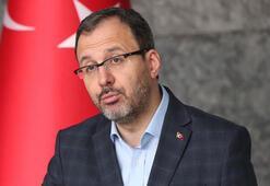 Spor Bakanı Kasapoğlu: Salgın, Türk sporunda irtifa kaybına neden olmaz