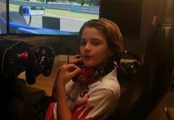 Dünyanın en genç milli karting pilotu Alpten Evde kal mesajı