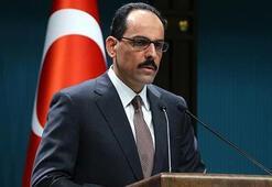 Cumhurbaşkanlığı Sözcüsü Kalın: Kalleş ve vahşi yüzünü bir kez daha gösterdi