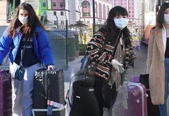 Sivasta karantinadaki 520 öğrenci bugün yurttan ayrıldı