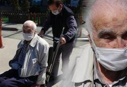 96 yaşında corona virüsü yenerek taburcu oldu