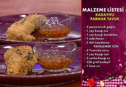 Kadayıflı parmak tavuk nasıl yapılır,malzemeleri nedir İşte Gelinim Mutfakta kadayıflı parmak tavuk tarifi...