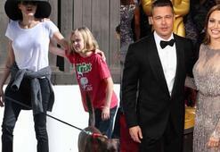 Brad Pitt ve Angelina Jolie çocukları konusunda anlaşmaya vardı