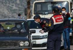 Antalyada 197 kişiye 196 bin TL korona yasağı cezası