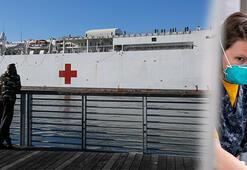 USNS Mercy hastane gemisi mürettebatı corona virüse yakalandı