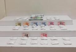 1.5 milyon lira olan kokain ele geçirildi