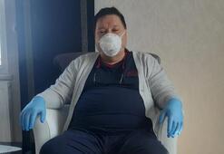 55 yaşındaki KOAH hastası coronayı yendi