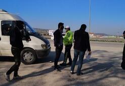 Bursada, fazla yolcu taşıyan servis şoförüne ceza