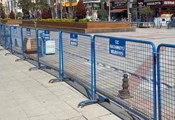 İstanbulda corona virüs önlemi Yaya trafiğine kapatıldı