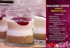 Vişneli Bisküvi Tatlısı nasıl yapılır Vişneli Bisküvi Tatlısı tarifi ve malzemeleri
