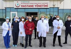 64 yaşındaki Prof. Dr. Özyaral da corona virüsü yendi