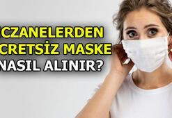 Ücretsiz maske başvuru nasıl yapılır Eczanelerden ücretsiz maske almak iki adım...