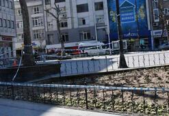Çorluda, Cumhuriyet Meydanı yayalara kapatıldı
