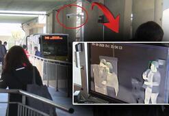 Metrobüs duraklarında termal kameralı önlem