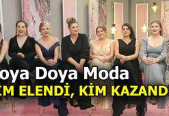 Doya Doya Moda bugün kim elendi Doya Doya Moda kim birinci oldu İki yarışmacı elendi...