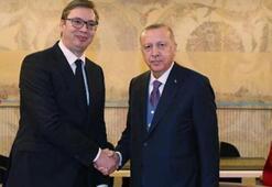 Son dakika haberi... Cumhurbaşkanı Erdoğan, Sırbistan Cumburbaşkanı ile görüştü