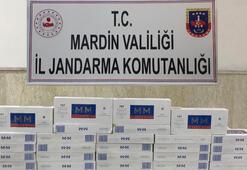 2 bin 440 paket kaçak sigara ele geçirildi