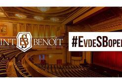 Saint Benoît Lisesinden #EvdeSBopera ve #EvdeSBsanat