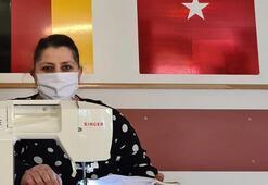 Almanyada Türkler corona virüs için maske dikip ücretsiz dağıtıyor