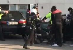 Ehliyetsiz sürücü kovalamacanın ardından yakalandı