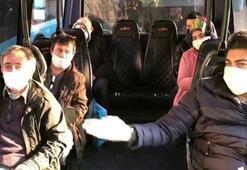 Şoförü cezadan kurtarmak isteyen yolcu: Biz inelim ceza yazmayın