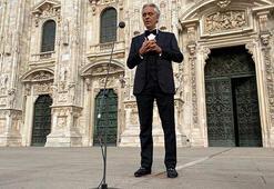 Andrea Bocelliyi milyonlar izledi