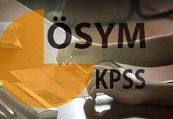 KPSS başvuruları başladı mı KPSS Ortaöğretim, önlisans ve lisans başvuru ve sınavı ne zaman