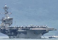 Son dakika... Uçak gemisindeki asker corona virüsten öldü ABDde deprem...