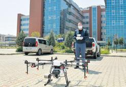 Çiğli'de drone ile havadan dezenfekte başladı