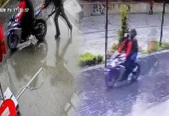 4 kişi motosiklet çaldı