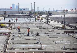 Zemin betonları dökülüyor