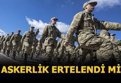 Askerlik uzadı mı 2020, terhisler ertelendi mi Milli Savunma Bakan Hulusi Akar açıkladı İşte askerlikte son durum...