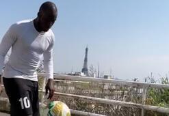 Moussa Sowdan mini futbol cambazlığı...