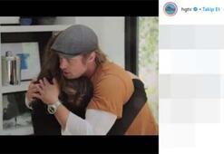 Brad Pitt sevinç gözyaşlarını tutamadı