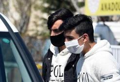 Takside yakalanan 20 yaşından küçük 2 arkadaşa para cezası