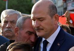 Bakan Soylu'yu ağlatan şehit babası konuştu Bakanımızın arkasındayız