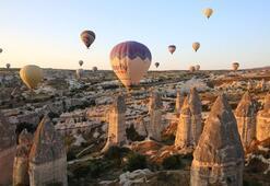 Kapadokya'da sıcak hava balon turları ertelendi