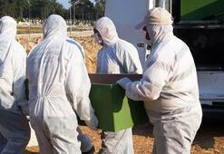 Mezarlıklarda corona virüs tedbirleri sıkılaştırıldı