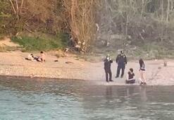 Irmak kenarında yakalanınca cezayı yediler