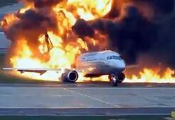 Rusyada korkunç uçak kazasının yeni görüntüleri yayınlandı
