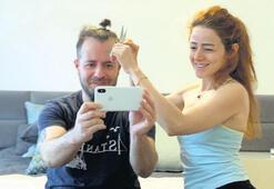 Saçı eşine emanet
