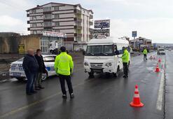 Bitlis polisi, sosyal mesafeyi mobeseden denetliyor