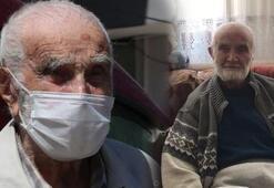 96 yaşında coronayı yendi Sağlıklı yaşamın sırrını anlattı