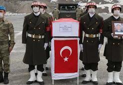 Şehit Uzman Çavuş Durhan için Hakkaride tören