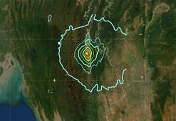 Son dakika... Myanmar-Hindistan sınırında deprem