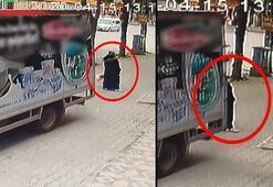 Geri manevra kazası: Arkasındaki kadını fark etmedi...