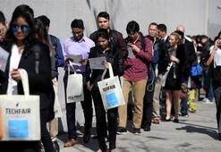 ABDde işsizlik maaşı başvuruları beklentiyi aştı