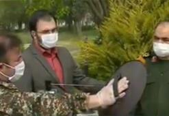 İranda Devrim Muhafızları Ordusunun tanıttığı Kovid-19 tespit cihazı ilgi görmedi