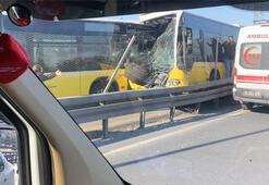 Son dakika... Avcılardaki metrobüs kazasından ilk görüntüler